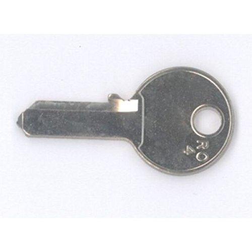 RONIS Ersatzschlüssel FM - Schließung FM 001 bis FM 200 - Nachschlüssel - Zusatzschlüssel - für RONIS Hebelzylinder in Briefkästen und Briefkastenanlagen - Briefkastenschlüssel - nachträglicher Schlüssel für RONIS Zylinder (132 Fm)