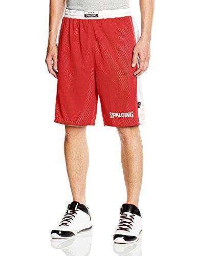 Spalding Bekleidung Teamsport Essential Reversible Shorts rot - rot / weiß