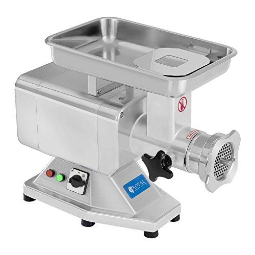 Fleischwolf Wurstmaschine Fleischmaschine (elektrisch, 220kg/h, 1100 W, 2 Lochscheiben 5/8 mm, PRO-Serie,