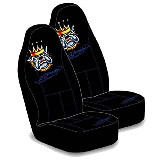 Ed Hardy Bulldog Bucket Seat Covers (Pair) by Auto Expressions