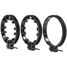 Ensemble d'engrenage pour anneau d'objectif Movo FR3 - Comprend des anneaux d'objectif 65mm, 75mm et 85mm (Standard 32 pitch - 0,8 mod)