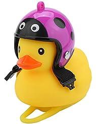 About1988 Cartoon Duck Fahrradklingel Laut,Fahrradglocke Universal Fahrrad Ring Shining Duck Fahrrad-Klinge Alarm Horn Lenkerklingel