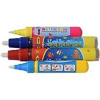 4 x Rangebow Aqua agua Doodle reemplazo bolígrafos 2 x grande 2 pequeño para todos los tapetes de Aqua dibujo pintura tablas de dibujo de agua Doodle Magic cuatro plumas por 3 años más