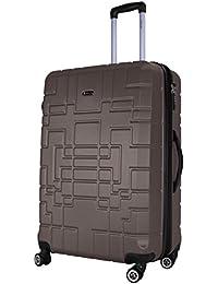 Shaik Serie XANO HKG Design Hartschalen Trolley, Koffer, Reisekoffer, in 3 Größen M/L / XL/Set 50/80/120 Liter, 4 Doppelrollen, TSA Schloss