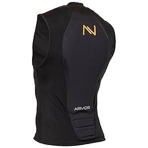 NAVIGATOR Armor Protektorweste, Schutzausrüstung für Oberkörper, sehr gut geeignet für Ski u. Snowboard mit Stoßabsorptionseigenschaften, biegsam, hoch-flexibel, sehr komfortabel, geprüft nach EN1621-2