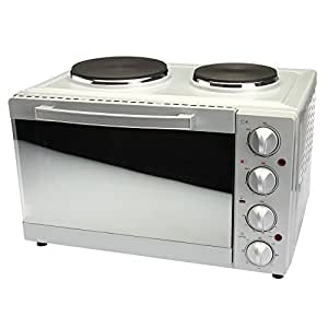 Oven with 2 Hob Hotplates - Powerful, Space Saving Countertop ...