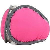 Unisex warme Kaschmir Winter reine Farbe Ohrenschützer, verstellbare Wrap, Pink preisvergleich bei billige-tabletten.eu