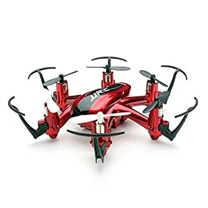 kingtoys® H20 Hexrcopter 2.4G 4 canali 6 Axis Gyro Rc Drone Quadcopter Headless 3D Modalità Rollover (Rosso)