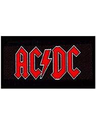 Parche rojo con logo de AC/DC