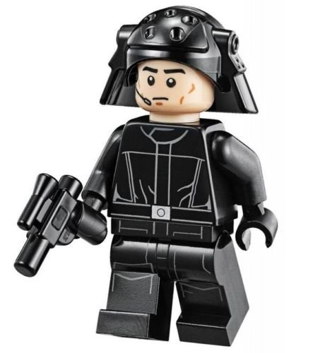LEGO Star Wars Minifigur - Imperial Navy Death Star Trooper mit Waffe (Lego Minifigur Navy)