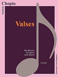 Partition - Chopin - Valses - pour piano