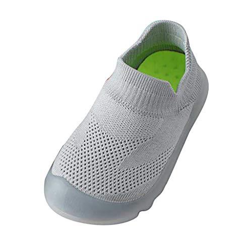 squarex  Mädchen Sportschuhe Jungen Reine Farbe Nette Kleinkind Freizeitschuhe Kleinkind Turnschuhe Kleine Kinder Sandalen Gestrickte Atmungsaktive Schuhe