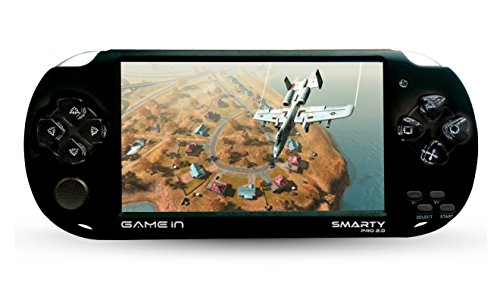 Mitashi Game In Smarty Pro 2.0 Handheld Gaming Console with 3000 In-built (Black)