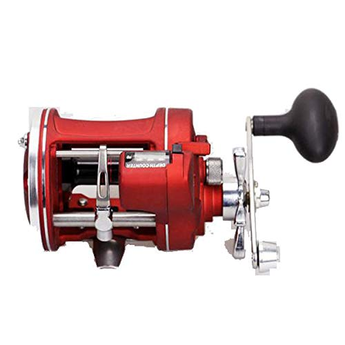 ZANLURE ACL 3.8:1 12BB Stainless Steel Trolling Reel With Counter Baitcasting Fishing Reel - 3000 Left hand -