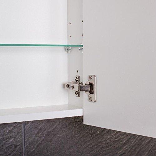 Galdem Spiegelschrank 60 cm - 6