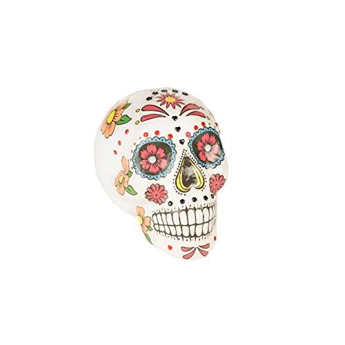 Viving Disfraces Viving 204462 Día de los Muertos Calavera (19 x...