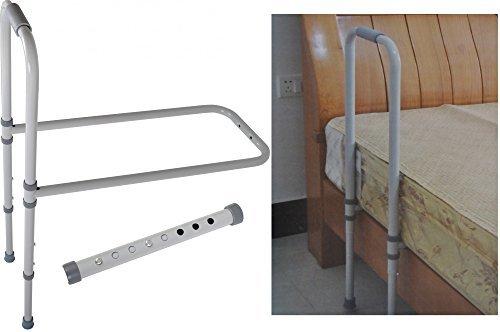 Bett Aufstehhilfe Metall bis 120kg höhenverstellbar Hilfe Gestell verstellbar