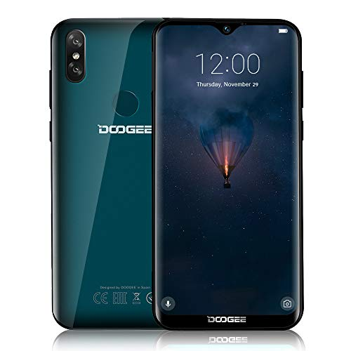DOOGEE Y8-2019 Handy Ohne Vertrag 4G LTE, Android 9.0 Dual SIM Quad-Core 3GB+16GB, 6.1