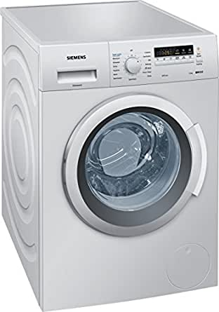 Siemens WM12K268IN Fully-automatic Front-loading Washing Machine (7 Kg, Silver)