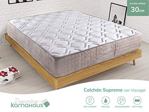 Dreaming Kamahaus Colchón Supreme Thermal Comfort con ViscoGel 150x200 cm. | Gama Alta | con ViscoGel...