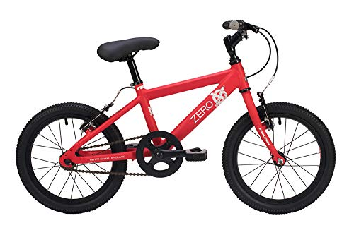 Raleigh Zero Boys Bike 16 Inch Wheel 10 Inch Frame Single Speed Red 2019 Best Price and Cheapest