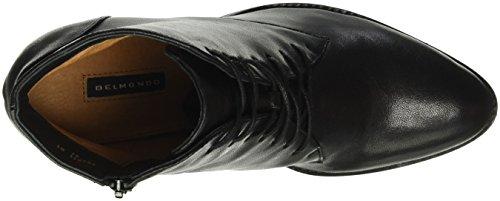 Belmondo 703511 01, Bottes Courtes femme Noir - Noir