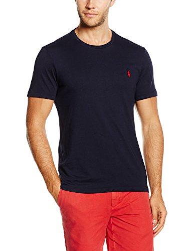 Ralph Lauren Polos (Polo Ralph Lauren Herren T-Shirt Crew T/S, Blau (Ink A4000), Large)