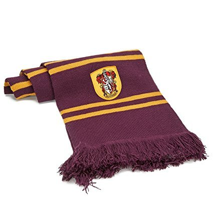 Harry Potter bufanda Halloween. (Gryffindor)
