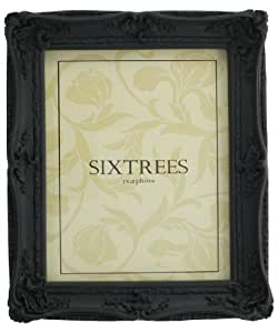 """Shabby Chic Style Very Ornate Black Photo Frame for 10""""x8"""" (254x203mm) Pictures"""