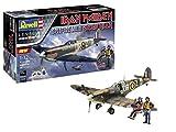Revell 05688 Iron Maiden Fan-Edition Spitfire Mk.II Aces High originalgetreuer Modellbausatz, mit Basis-Zubehör, 28,6 cm, 1/32 -