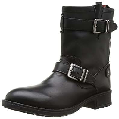 Pepe Jeans London Pimlico Basic, Boots femme - Noir (999Black), 36 EU