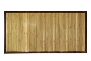 Casa Viva - Tapis Bambou Bordure Large - Dimension : 80X160 cm
