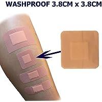 PACK OF 200 QUALICARE PREMIUM ULTRA THIN WASHPROOF FIRST AID SQUARE WOUND CUT... preisvergleich bei billige-tabletten.eu