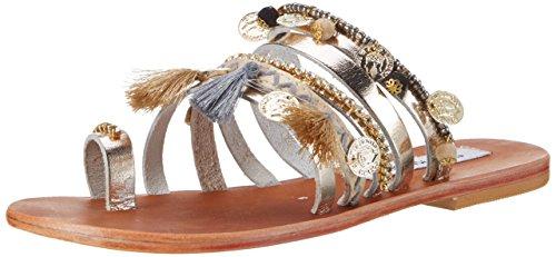 steve-madden-rippel-slipper-femme-or-gold-multi-37-eu