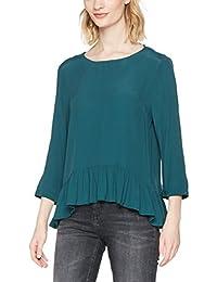 Tommy Jeans Damen Basic Blouse 3/4  3/4-Arm Regular Fit Bluse