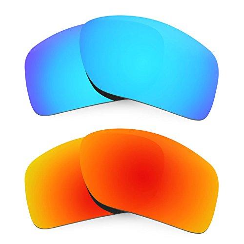 Revant Ersatzlinsen für Oakley Big Taco Polarisiert 2 Paar Kombipack K002