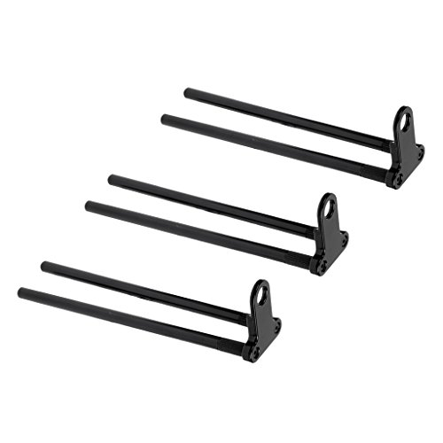 Sharplace 3 x Aluminiumlegierung Haken Bar mit Bissanzeiger für Karpfenangeln