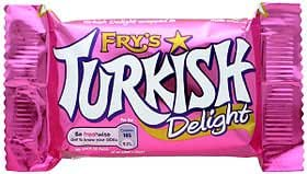 Fry's Turkish Delight Chocolate 51g x 10 Bars