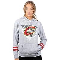 68fc3c28cb6fe Unk NBA FHL3590F NBA Women s Varsity Stripe Fleece Pullover Hoodie  Sweatshirt