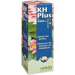 Velda 122033 Wasseraufbereiter zur Anhebung der Karbonathärte für 10.000 l Teichvolumen, KH Plus 1.000 ml