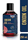 Beardhood Onion Oil with Redensyl for Hair Growth - 20% Red Onion Extract