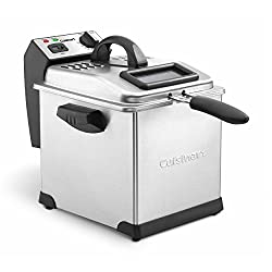 Cuisinart Deep Fryer : Cuisinart CDF-170 Deep Fryer, 3.4 quart, Stainless Steel