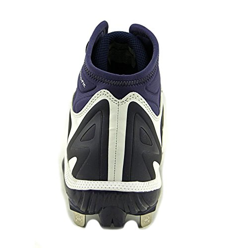 Under Armour Yard Mid St Baseball Cleat Synthétique Baskets wht-mdn