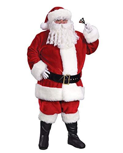Horror-Shop Luxuriöses Weihnachtsmann Kostüm ()