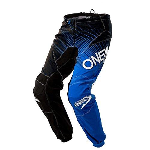 O'Neal Element Racewear MX Motocross Hose Pant Enduro Offroad Motorrad Quad Cross Erwachsene, 0108, Farbe Blau, Größe 32 -