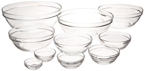 Duralex Lys Clear Stackable Bowl 511760M91 , 3.5 qt. by Duralex