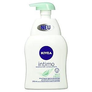 NIVEA Waschlotion für den Intimbereich, 250 ml Spender, Intimo Mild Fresh