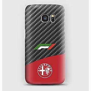 Carbon F1 Alfa Romeo Cover Samsung S6, S7, S8, S9, A3, A5, A7, J3, J5, Note,