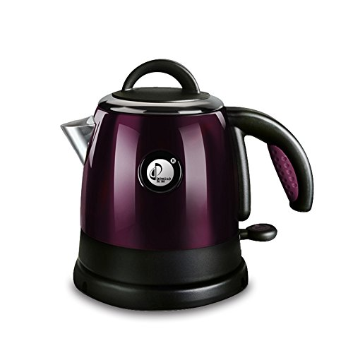CAICOLORFUL Home Food Grade Stainless Steel Electric Kettle Automatic Power Off Kettle Cordless Kettle Quickly Boil 0.8L 1000W Electric Kettles ( Color : Purple )