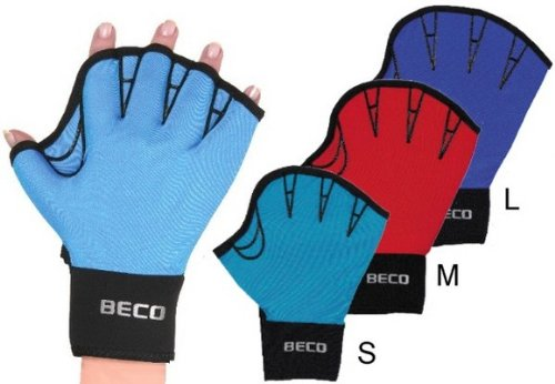 Beco Unisex- Erwachsene Lycra Handschuhe-9635 Schwimmhandschuhe, Sortiert/original, M
